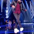 Alliel dans The Voice 7 sur TF1 le 17 mars 2018.
