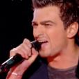"""Francè dans """"The Voice 7"""" sur TF1, le 17 mars 2018."""