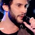 """Anto dans """"The Voice 7"""" sur TF1 le 17 mars 2018."""