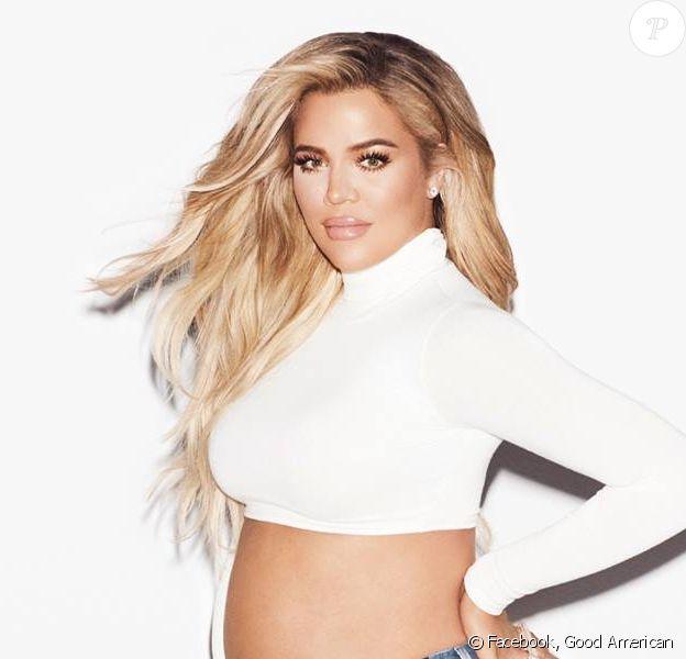 """Khloé Kardashian dévoile """"Good Mama"""", sa collection de vêtements de maternité."""