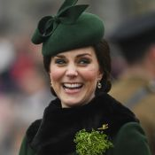 Kate Middleton, enceinte et radieuse, fête la Saint Patrick avec William