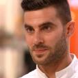 """Thibault lors du 8ème épisode de """"Top Chef"""" (M6) mercredi 21 mars 2018."""
