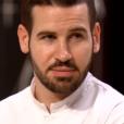 """Vincent lors du 8ème épisode de """"Top Chef"""" (M6) mercredi 21 mars 2018."""