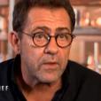 """Michel Sarran lors du 8ème épisode de """"Top Chef"""" (M6) mercredi 21 mars 2018."""