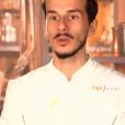"""Clément lors du 8ème épisode de """"Top Chef"""" (M6) mercredi 21 mars 2018."""
