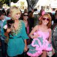 Paris Hilton s'amuse comme une petite folle ! 25/03/09