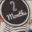 Ariane Brodier déclare son amour à son fils pour ses deux mois, 21 mars 2018, Instagram