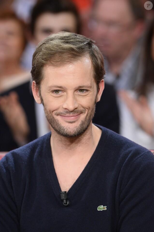 """Nicolas Duvauchelle - Enregistrement de l'émission """"Vivement Dimanche"""" à Paris le 17 février 2016. © Coadic Guirec/Bestimage"""
