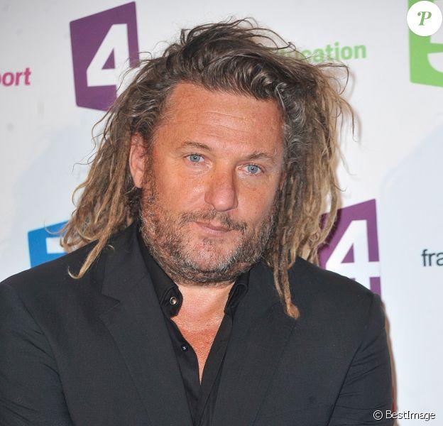 Olivier Delacroix - Conférence de presse de rentrée de France Télévisions au Palais de Tokyo à Paris, le 26 août 2014.