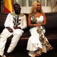 Maître Gims et sa femme DemDem ont rencontré le président de la république du Mali, Ibrahim Boubacar Keïta. Photo postée sur Instagram en janvier 2017.