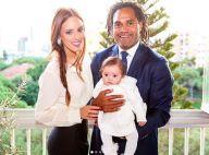 Christian Karembeu papa-poule avec sa fille de 7 mois : Tendre câlin au Liban