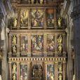 Image lors de la messe commémorant le 25e anniversaire de la mort de dom Juan de Borbon (Jean de Bourbon), père du roi Juan Carlos Ier, le 3 avril 2018 au monastère San Lorenzo de El Escorial.