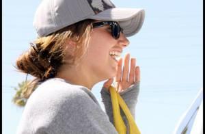 Quand Ashley Tisdale est prise d'un fou rire, elle est... incontrôlable !