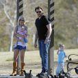 Tori Spelling et son mari Dean McDermott, avec leurs enfants Liam et Stella