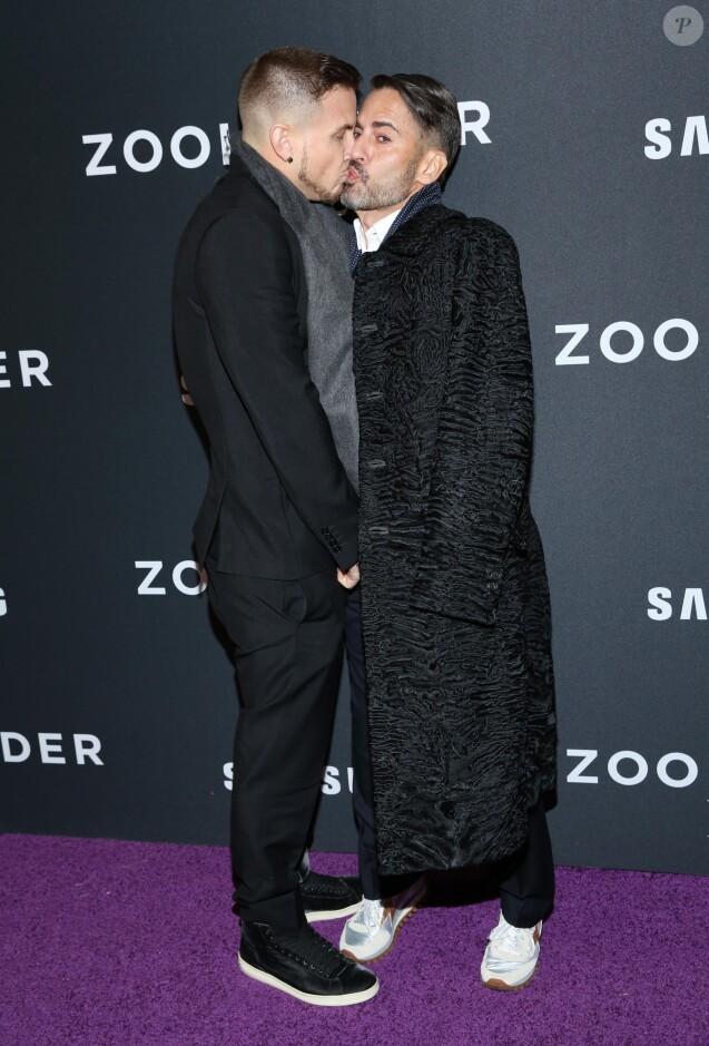 Marc Jacobs et Charly DeFrancesco à New York le 9 février 2016.