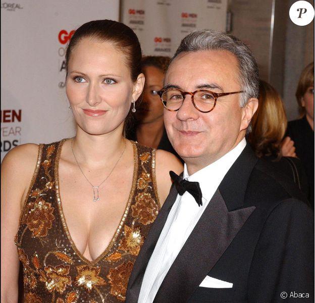 Alain Ducasse et sa femme Gwenaëlle
