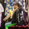 Exclusif - Cardi B fait un shopping tardif chez Dolce & Gabbana à Beverly Hills le 26 février 2018.