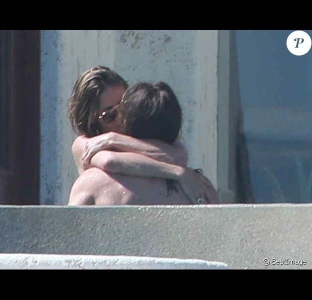 Semi-Exclusif - Heidi Klum et son nouveau compagnon Tom Kaulitz roucoulent sous le soleil de Cabo San Lucas au Mexique le 8 avril 2018