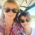 Gwyneth Paltrow et son fils Moses. Avril 2017.