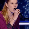 Queen Clairie contre Guillaume le 14 avril 2018 dans The Voice 7 sur TF1.