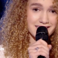 "Kelly contre Eccho dans ""The Voice 7"" sur TF1 le 14 avril 2018."