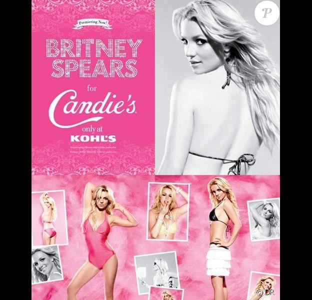 Britney Spears pour la publicité Candie's