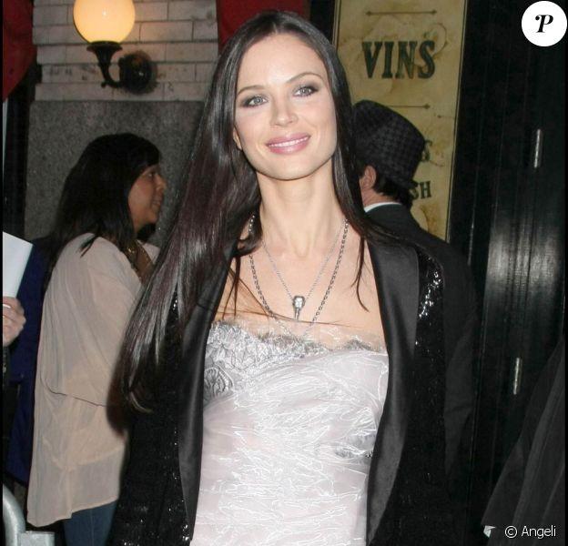 La très belle Georgina Chapman, le 31 mars 2009, lors d'une soirée à New York !