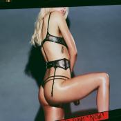 Ireland Baldwin : La fille de Kim Basinger fume en lingerie, une vidéo torride !