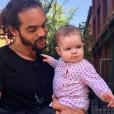 Joakim Noah et sa fille. Mai 2017.