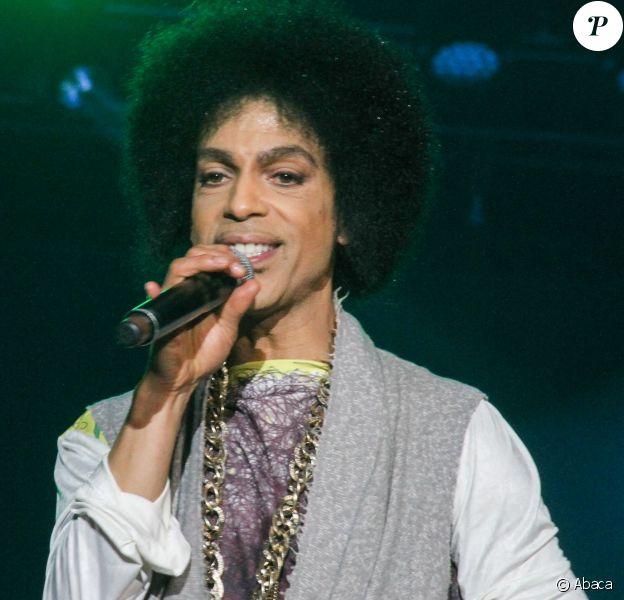 Prince en concert au Essence Festival à La Nouvelle-Orléans le 5 juillet 2014.