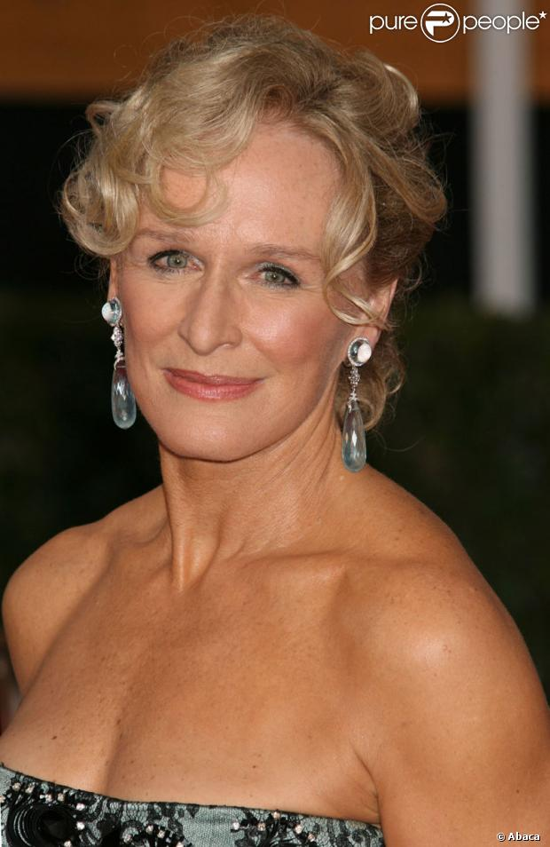 Glenn Close le 27 janvier 2008 aux Screen Actors Guild Awards à Los Angeles