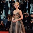 """Jennifer Lawrence à la projection de """"Mother !"""" au 74e Festival de Venise, le 5 septembre 2017."""