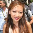 Nathalie Nguyen (Masterchef 2) - L'émission phare de l'avant-étape sur France 3, le  Village Départ  achève son dernier Tour à Chantilly le 24 juillet 2016.
