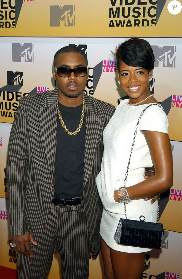 Nas et Kelis (wearing a Chanel bracelet) aux MTV Video Music Awards 2006.