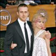 Rachel McAdams et Ryan Gosling à Los Angeles le 28 janvier 2008 pour les screen Actors Guild Award