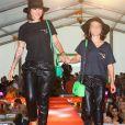 Exclusif  - Alizée et sa fille Annily - Alizée a participé à la dernière journée de la 9ème édition de l'association 'La Marie Do' à Ajaccio en tant que marraine le 11 octobre 2015. © Photos Olivier Huitel / Crystal / Bestimage