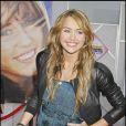 Miley Cyrus, toute en beauté pour l'avant-première d'Hannah Montana The Movie, le jeudi 2 avril 2009 à Hollywood.