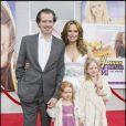Melora Hardin et toute sa petite famille à l'avant-première d' Hannah Montana The Movie , le jeudi 2 avril 2009.