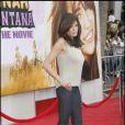 Teri Hatcher, désespérement belle pour l'avant-première d'Hannah Montana.