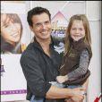 L'acteur Antonio Sabato Jr. et sa fille