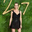 Eva Herzigova aux British Fashion Awards 2017 à Londres. Le 4 décembre 2017.