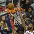 Tristan Thompson lors du match Cleveland Cavaliers - Toronto Raptors à Toronto. Le 11 janvier 2018.