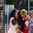 Roselyn Sanchez et sa fille, Melanie Griffith et Elizabeth Banks - Baby shower de Eva Longoria à The Lombardi House à Los Angeles, le 5 mai 2018