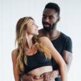 Ariane Brodier enceinte de son amoureux Fulgence Ouedraogo, une annonce faite sur Instagram le 10 août 2017.