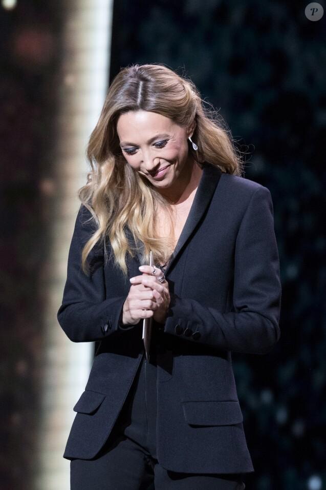 Laura Smet (bijoux Messika) - 43e cérémonie des Cesar à la salle Pleyel à Paris, le 2 mars 2018. © Dominique Jacovides - Olivier Borde / Bestimage