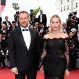Yury Anashenkov et Elena Letuchaya - Montée des marches du film «Yomeddine» lors du 71ème Festival International du Film de Cannes. Le 9 mai 2018 © Borde-Jacovides-Moreau/Bestimage
