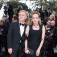 Christoph Waltz et Caroline Scheufele - Montée des marches du film « Yomeddine » lors du 71ème Festival International du Film de Cannes. Le 9 mai 2018 © Borde-Jacovides-Moreau/Bestimage