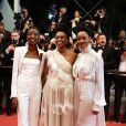 Sheila Munyiva, Wanuri Kahiu,Samantha Mugatsia - Montée des marches du film « Leto » lors du 71ème Festival International du Film de Cannes. Le 9 mai 2018 © Borde-Jacovides-Moreau/Bestimage