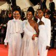 Samantha Mugatsia, Wanuri Kahiu et Sheila Munyiva -Montée des marches du film «Leto» lors du 71ème Festival International du Film de Cannes. Le 9 mai 2018