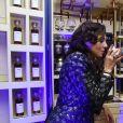 """Exclusif - Sandra Sisley et Michaël Youn - Soirée """"In The Air"""" et ses époustoufants magiciens à la Suite Sandra & Co lors du 71e Festival International de Cannes le 10 mai 2018. © Giancarlo Gorassini/Bestimage"""